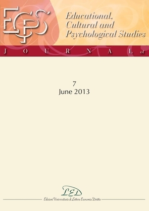 Journal of Educational, Cultural and Psychological Studies (ECPS Journal) No 7 (2013)