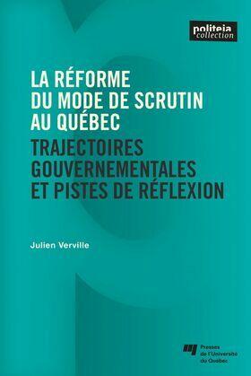 La réforme du mode de scrutin au Québec