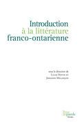 Introduction à la littérature franco-ontarienne