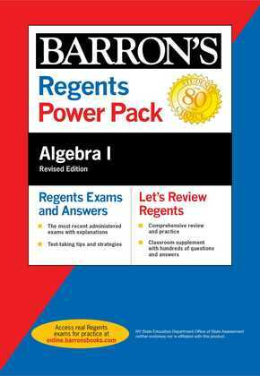 Regents Algebra I Power Pack Revised Edition