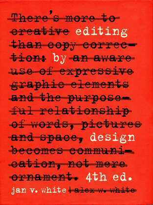 Editing by Design
