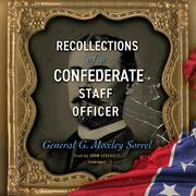 Recollections of a Confederate Staff Officer