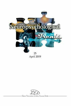 Neuropsychogical Trends 25 - April 2019