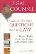 Legal Counsel, Book Two: Property Rights, Family and Divorce, and Company Rights