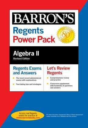 Regents Algebra II Power Pack Revised Edition