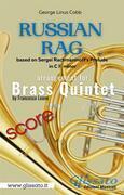 Russian Rag - Brass Quintet (score)
