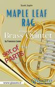 Maple Leaf Rag - Brass Quintet - Parts