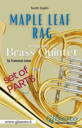 Maple Leaf Rag - Brass Quintet - Parts