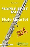 Maple Leaf Rag - Flute Quartet - Parts