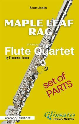 Maple Leaf Rag - Flute Quartet - Parts