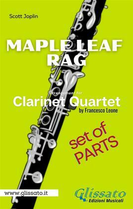 Maple Leaf Rag - Clarinet Quartet - Parts