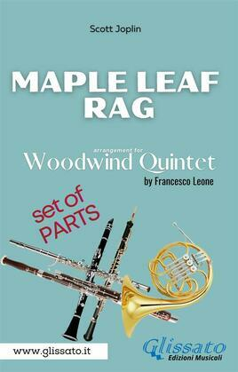 Maple Leaf Rag - Woodwind Quintet - Parts