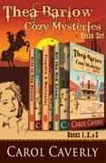 The Thea Barlow Box Set (Three Complete Cozy Mystery Novels)
