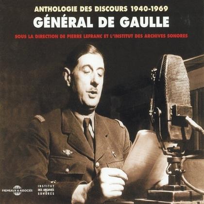 Anthologie des discours de Charles de Gaulle (1940-1969)