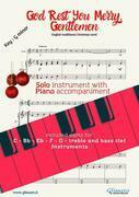 God Rest Ye Merry,Gentlemen - Solo with Piano acc. (key Gm)