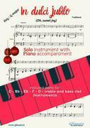 In dulci jubilo - Solo with Piano acc. (key G)