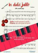 In dulci jubilo - Solo with Piano acc. (key F)