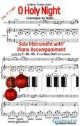 O Holy Night - Solo with Piano acc. (key F)