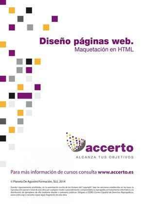Diseño páginas web. Maquetación HTML
