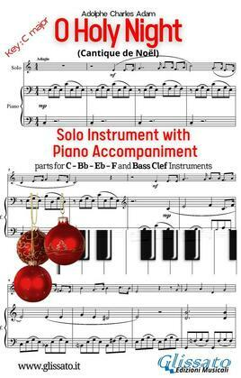 O Holy Night - Solo with Piano acc. (key C)