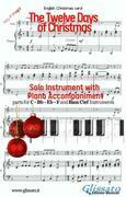 The twelve days of Christmas - Solo with Piano acc. (key F)