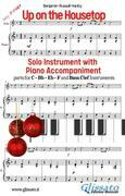 Up on the Housetop - Solo with Piano acc. (key F)