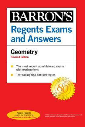 Regents Exams and Answers Geometry Revised Edition