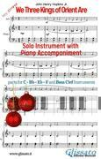 We Three Kings of Orient Are - Solo with Piano acc. (key Dm)