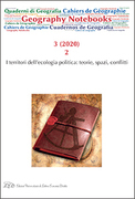 Geography Notebooks. Vol 3, No 2 (2020).The Territories of Political Ecology: Theories, Spaces, Conflicts