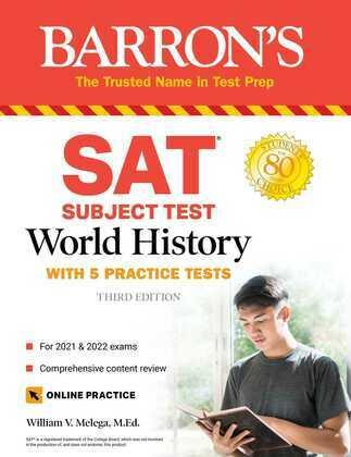 SAT Subject Test World History