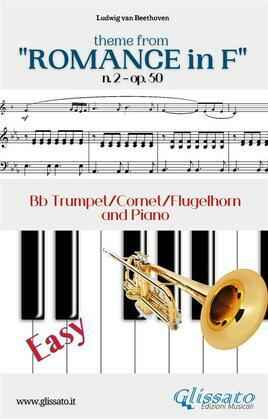 "Theme from ""Romance in F"" Easy Trumpet & Piano"