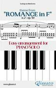 """Theme from """"Romance in F"""" Easy for Piano Solo"""