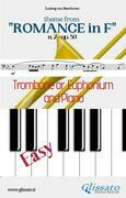 "Theme from ""Romance in F"" Easy Trombone/Euphonium & Piano"