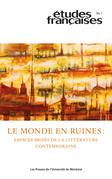 Études françaises. Vol. 56 No. 1,  2020