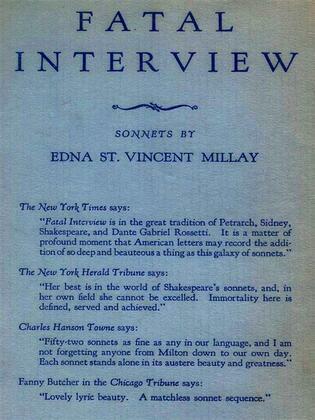 Fatal Interview: Sonnets