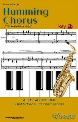 Humming Chorus -  Alto Sax and Piano (Key Eb)