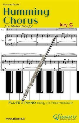 Humming Chorus -  Flute and Piano (Key C)