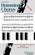 Humming Chorus - Bb Clarinet/Sax and Piano (Key Bb)