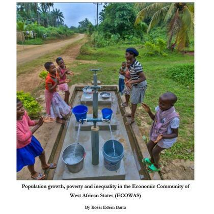 Population growth, poverty and inequality in ECOWAS