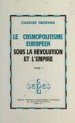 Le cosmopolitisme européen sous la Révolution et l'Empire (1)