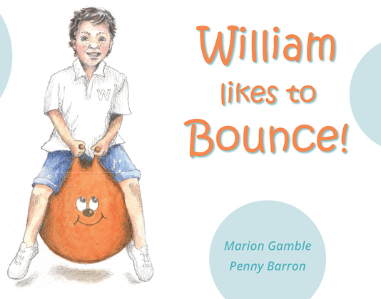 William likes to Bounce!