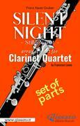 Silent Night - Clarinet Quartet (parts)