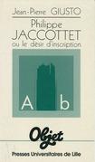 Philippe Jaccottet ou le désir d'inscription