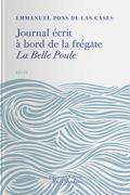 Journal écrit à bord de la frégate La Belle-Poule