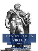 Menón o de la virtud