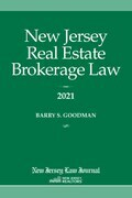 New Jersey Real Estate Brokerage Law 2021