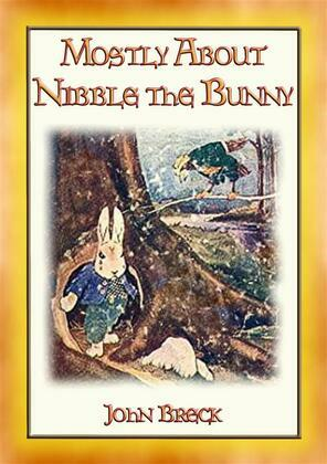 MOSTLY ABOUT NIBBLE THE BUNNY- the 9 adventures of a lost and lonely bunny