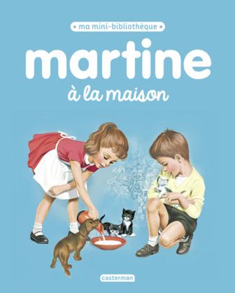 Ma mini bibliothèque Martine - Martine à la maison