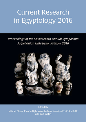 Current Research in Egyptology 2016