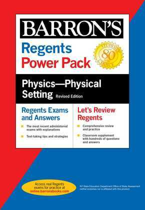 Regents Physics--Physical Setting Power Pack Revised Edition